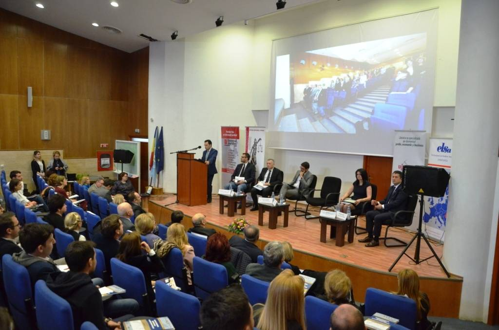 Colloque international de Constanţa sur le droit et les principales professions juridiques dans le contexte européen actuel