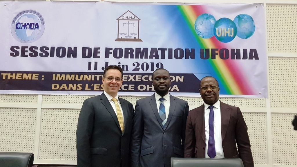Ufohja-Ersuma Training Seminar in Brazzaville on 11 June 2019