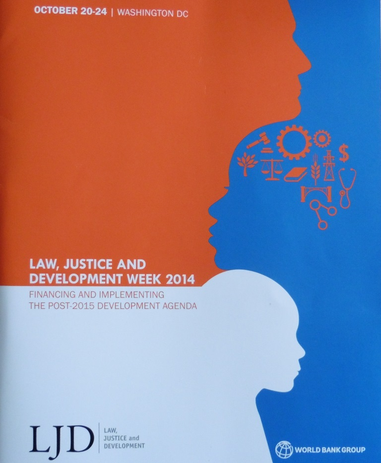 "The UIHJ and the Draft Global Code of Enforcement at the ""Law Justice and Development"" Week of the World Bank"