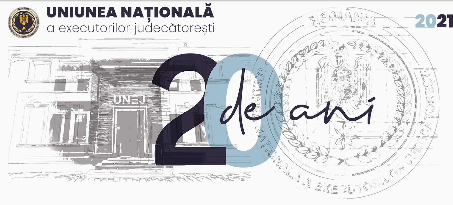 20th Anniversary of the National Union of Judicial Officers of Romania