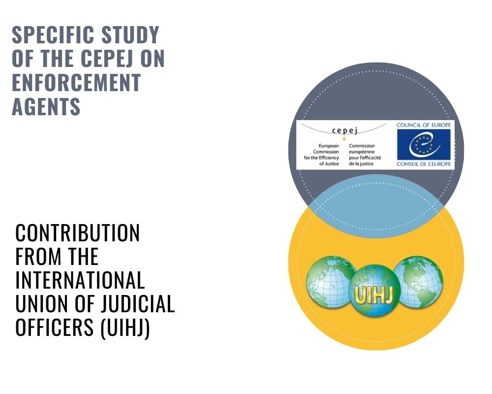 The CEPEJ publishes a specific study on enforcement of court decisions