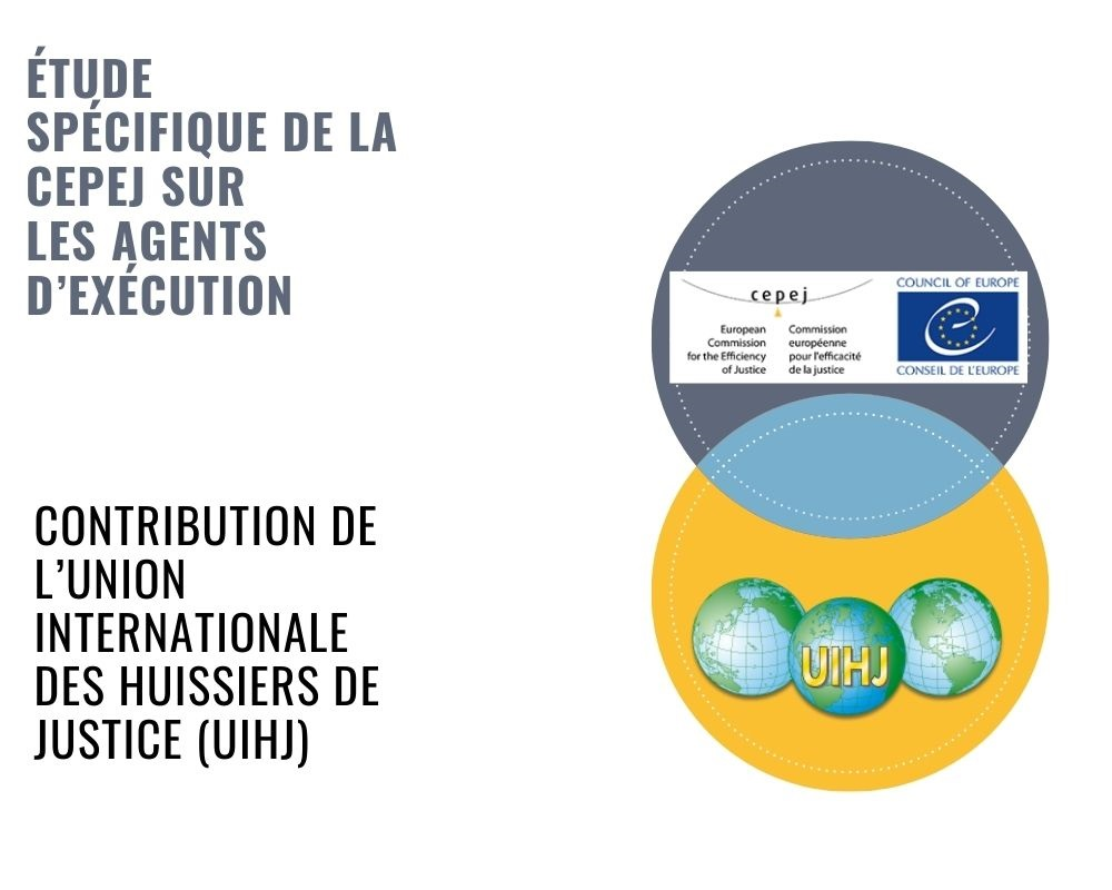 La CEPEJ publie une étude spécifique sur l'exécution des décisions de justice
