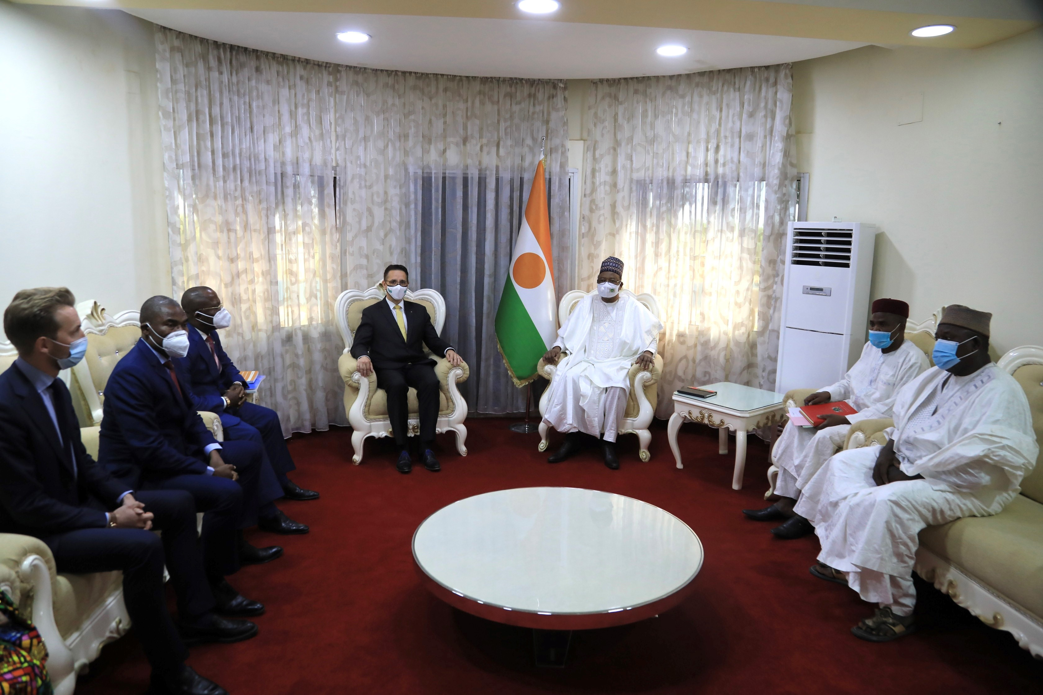 Meeting with H.E. the Prime Minister of the Republic of Niger